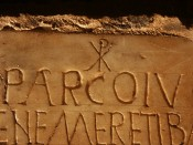 Callixtus catacombs Leonard Rutgers Christian catacombs Rome Early Christian inscriptions San Callisto Epigraphy