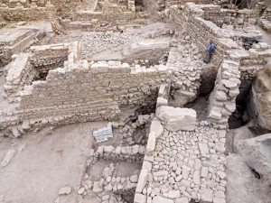 Remains of the citadel and tower uncovered in Jerusalem