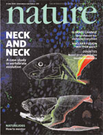 Nature cover Leonard Victor Rutgers